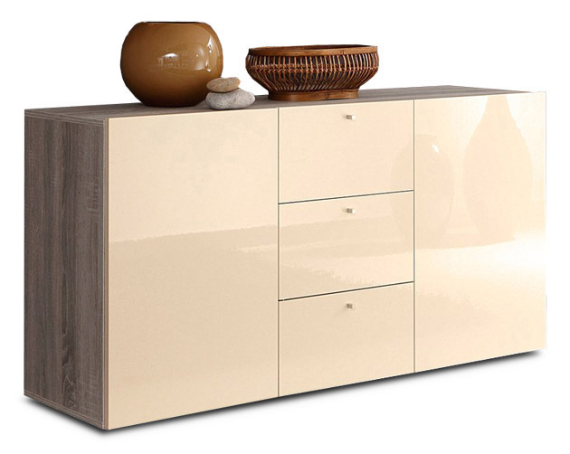 highboard creme hochglanz die neuesten innenarchitekturideen. Black Bedroom Furniture Sets. Home Design Ideas